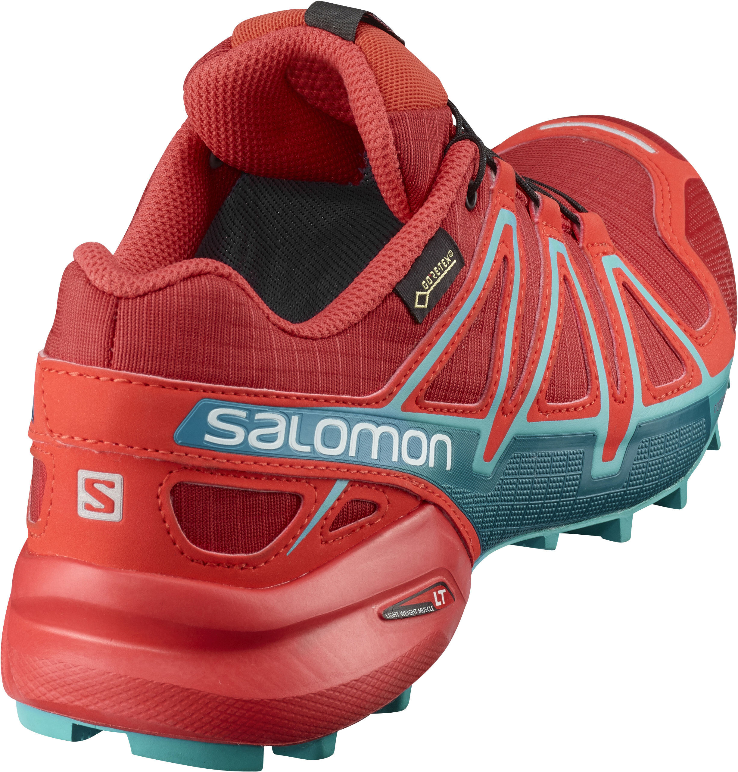 sports shoes 91657 a0652 Salomon Speedcross 4 GTX - Chaussures running Femme - rouge turquoise